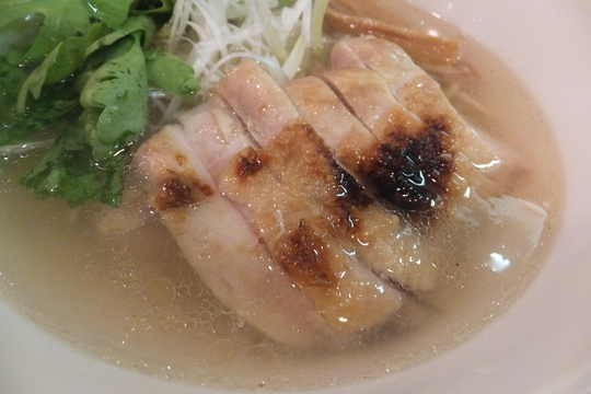 なんば 「麺屋 彩々」 大阪好っきゃ麺3 第2弾 清澄鶏塩らーめん!