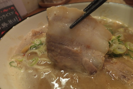 西長堀・北堀江 「麺や 拓」 豚と魚介のWスープの豚×魚ラーメン!