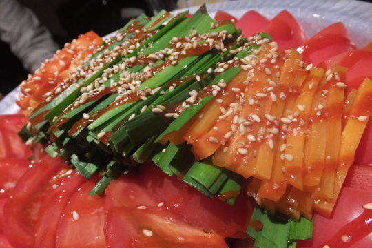 梅田・茶屋町 「じゅろく」 コラーゲントマト鍋がメチャ旨い