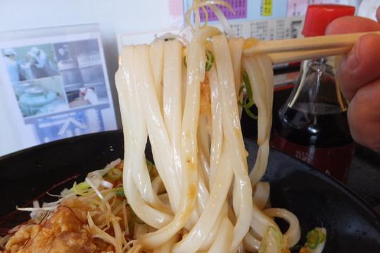 奈良・田原本 「荒木伝次郎」 うどん巡礼5 第14弾 唐揚げ香味ネギソース生醤油!