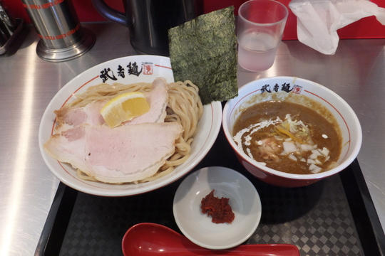 吹田・江坂 「武者麺SEA」 濃厚な魚介つけそばは旨味がタップリ詰まってます!