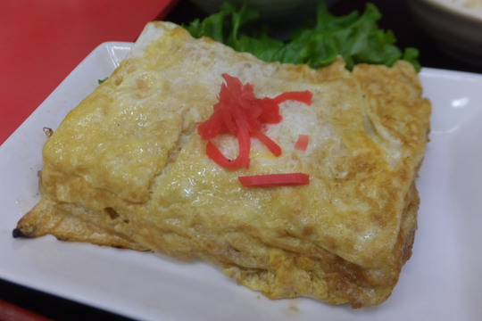 豊中・蛍池 「中華料理 ます」 玉子焼きランチがボリューミーで旨い!