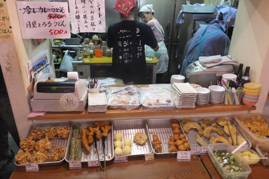 尼崎 「讃岐うどん 穂乃香」 うどん巡礼5 第18弾 肉&ひやかけ!