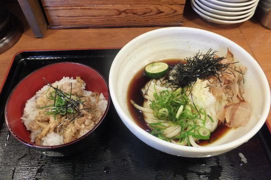 淀川・三国 「うどんの藤や」 大阪好っきゃ麺5 第7弾 ぶっかけランチ!