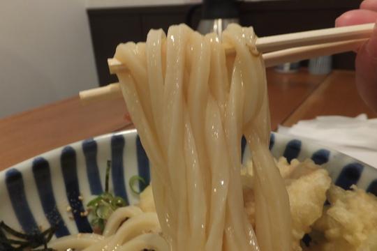 京都・清水五条 「讃式」 うどん巡礼5 第22弾 かしわ天ぶっかけ!