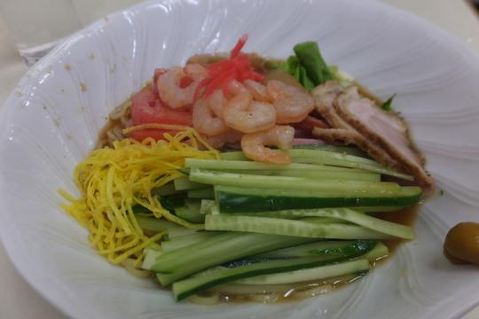 豊中・蛍池 「中華料理 ます」 真夏日にはさっぱり冷麺が旨い!