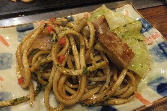 西成・岸里 「海や」 大阪好っきゃ麺3 第9弾 豚焼きそば!