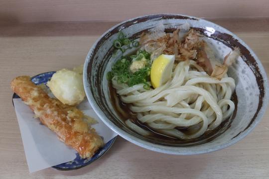 明石・朝霧 「黄金の穂」 うどん巡礼5 第32弾 ちく玉天ぶっかけ!