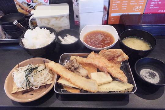 池田・石橋 「満天」 手軽に頂ける天ぷら定食!