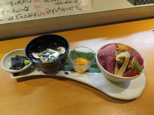 玉造・玉造元町 「活旬 大枡」 9月末まで限定の松茸フェアで究極のTKGに舌鼓!