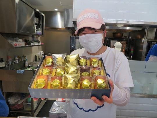 西大橋・新町 「ちひろ菓子店」 贈り物にピッタリのちひろ流フィナンシェ詰め合わせ!