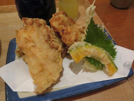泉大津・和泉府中 「うどん・鍋 鰹さん」 大阪好っきゃ麺8 その2 とり天ぶっかけ!