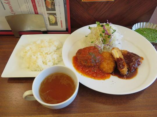 心斎橋 「洋食あんじゅ」 気軽に上質な洋食がリーズナブルに楽しめます!