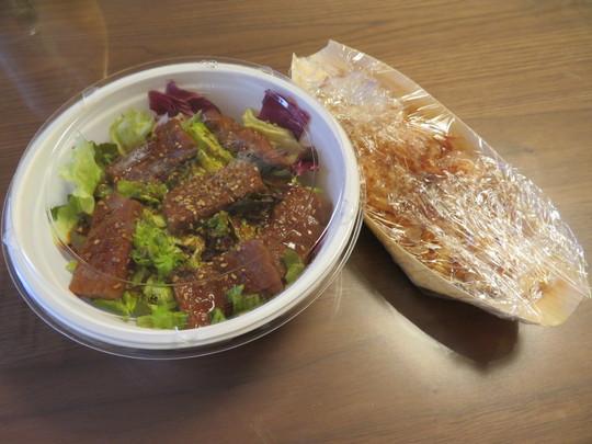 豊中・緑地公園 「武遊田」 特上焼肉丼と名物山芋のとろろ焼をテイクアウトしました!