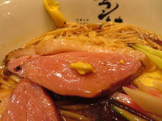 中央・本町 「フラン軒」 鴨ロースが入った旨味たっぷり清涼感あふれる冷やし中華と激旨焼きめしセット!