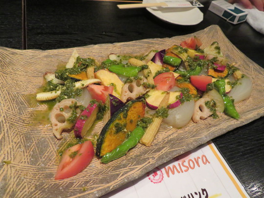 四ツ橋・北堀江 「空(そら)」 大阪産料理でコンペの表彰式&懇親会を楽しみました!