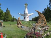 吹田・万博公園 「万博ビアガーデン with アジアン屋台」 太陽の塔を見上げながらビールで乾杯!