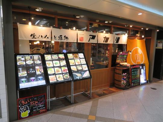 梅田・ホワイティ 「灯アカリ」 日替わりの煮込みハンバーグ!