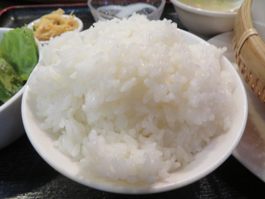 淀川・西中島 「真水無香(しんすいむこう)」 イカの塩揚げ天ぷら定食が旨い!