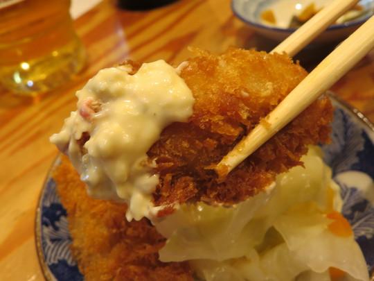 なんば 「き田たけうどん」 カレー大阪つけ麺とアテで昼飲み出来ます!