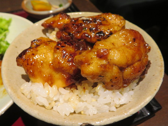 中央・本町 「六味酒肴 QU (くう)」 ボリューミーな若鶏の照り焼き定食!