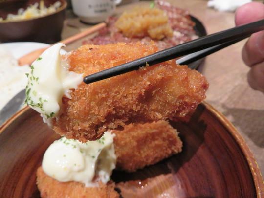 淀川・東三国 「1ポンドのステーキハンバーグ タケル」 ステーキをガッツリいきたくてリブロースのラージで!