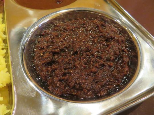 天満 「ガンジーカレー」 思わずインドに居る様なマサラ食堂のガンジー松本氏のスパイスが天六で頂けます!
