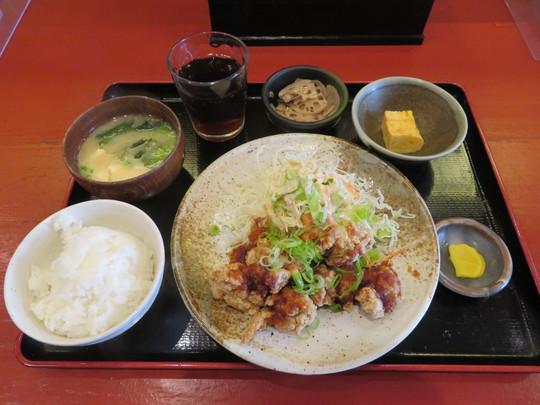 淀川・新大阪 「呑菜(どんな)」 居酒屋の美味しい鶏の唐揚げポン酢定食!