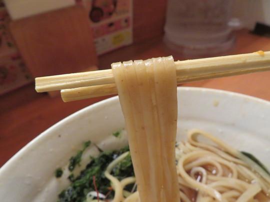 北・天満 「らーめん 麺元素」 天然素材100%使った体にいい魚元素淡麗醤油ラーメン!!