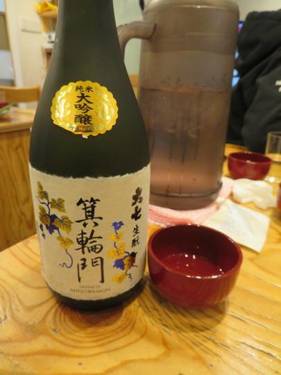 なんば 「き田たけうどん」 年越し蕎麦を頂くついでに料理を持ち寄って一杯頂きました!