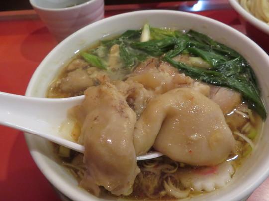 西長堀 「カドヤ食堂」 はるゆたかの麺の旨味が半端ないつけそば!