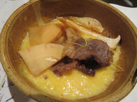 京都・大宮 「おばん菜 いち好」 クセのないしし肉のしゃぶしゃぶとすき焼きが激旨!