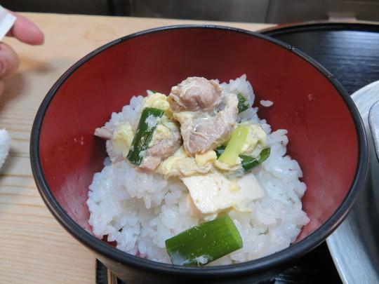 梅田・新梅田食道街 「新喜楽」 鴨の出汁がよく出た旨味タップリの鴨鍋定食!