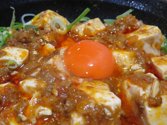谷町四丁目 「麺とカキ氷 ドギャン 谷四店」 大阪好っきゃ麺8 その13 しび辛麻婆麺 卵黄麻婆まぜそば!