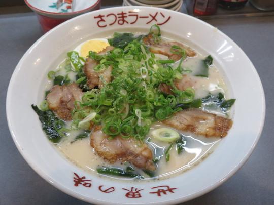 神戸・新長田 「薩摩羅麺」 すっきりコクのあるトンコツ塩味のさつまラーメン!