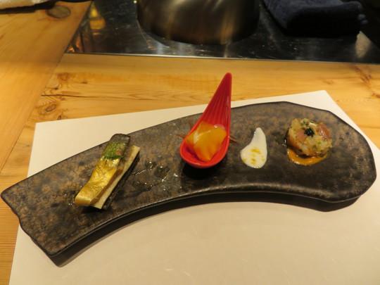 西天満 「鉄板ステーキ 淀屋」 幻の魚や厳選された肉に拘った料理長10月極みコースを頂きました!