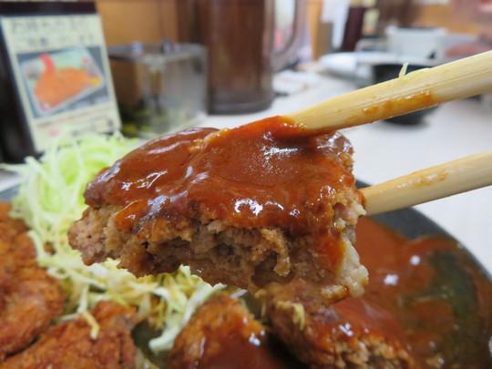 堺・なかもず 「とんかつ・洋食 味の店一番」 創業45年地元人気の老舗の洋食店でハンバーグと豚ヒレカツのセット!