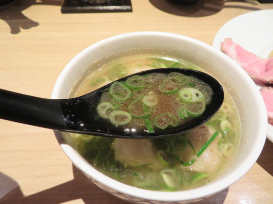 姫路・呉服町 「姫路麺哲」 姫路城をモチーフしたつけ麺姫路をホルモントッピングで頂きました!
