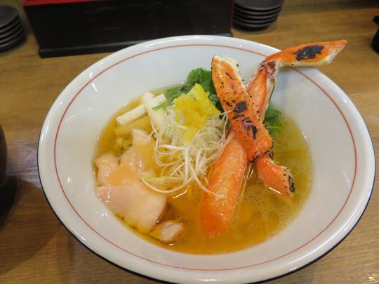 新世界 「麺や 鯛清(たいせい)」 旨味あふれる鯛出汁のラーメン!