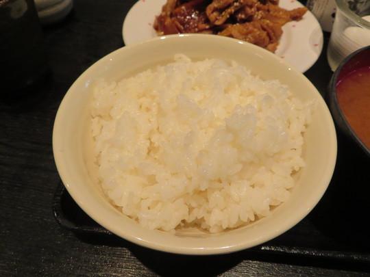 四ツ橋・北堀江 「空(そら)」 濃厚な豚肉の生姜焼きはご飯が進み過ぎます!