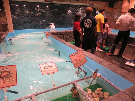 なんば 「ジャンボ釣船つり吉」 ふぐを釣り上げててっさと唐揚げを頂きました!