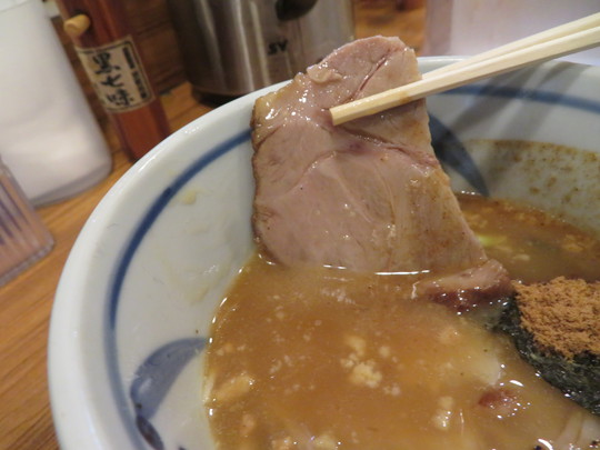中央・本町 「つけ麺 四代目みさわ」 トッピング盛り沢山の特製つけ麺に焼石で温めるスープ割り!