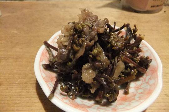 箕面 「喜味」 馬スジ煮込みがコリコリで旨い!!!