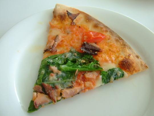 奄美珍道中16 笠利町 「奄美きょら海工房」 南国ピザを堪能