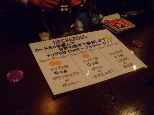 梅田 「バー デッカー」 移転して店名が変わりました!