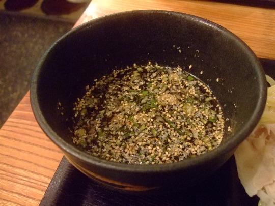 千里中央 「一之助」 和風ひやひやつけ麺がツルツルで旨い!