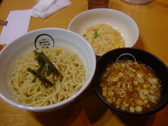 吹田・江坂 「麺創 麺魂(めんたま)」 つけ麺半チャンセット