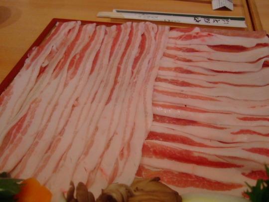 東天満・OAP 「やぶそば」 蕎麦屋でお値打ち豚しゃぶコース