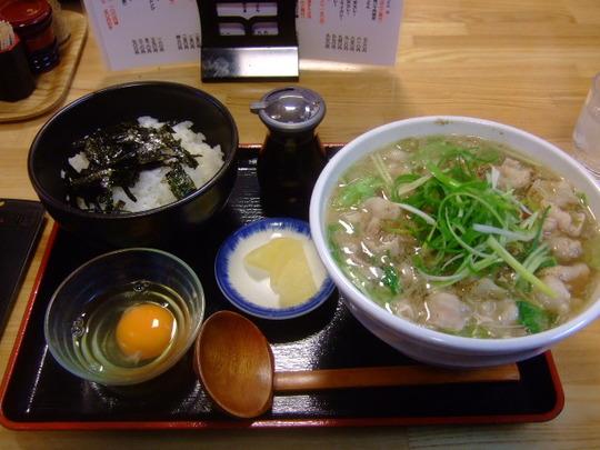 門真 「三ツ島真打」 巡礼第50弾 辛~いうどん&玉子ご飯!