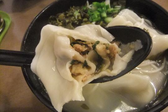 香港珍道中9 「唯珍上海麺家」 佐敦の行列が出来るラーメン屋